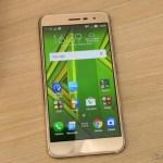 Smartphone Asus ZenFone 3 32GB Gold Dual Chip 4G, em funcionamento