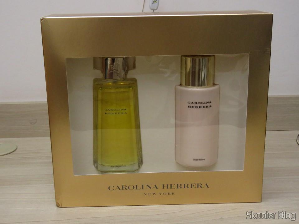 b488c4aa0db Carolina Herrera Gift Set - 3.4 oz EDP Spray + 6.7 oz Body Lotion (In) -  Skooter Blog