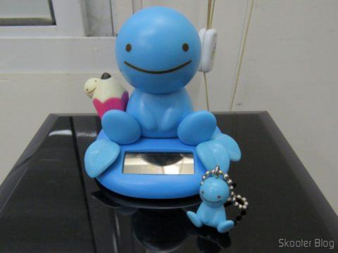 Boneco Solar Nohohon Zoku e seu filhote