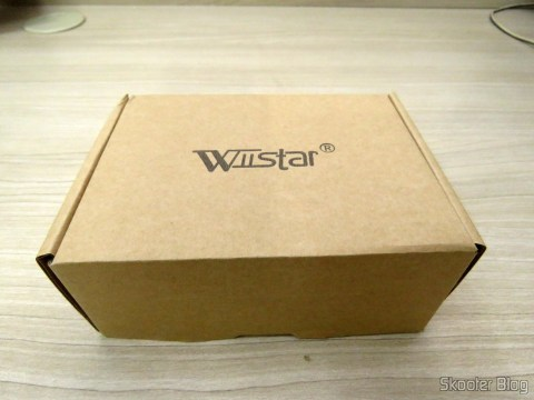 Optical/Coaxial Audio decoder DTS/AC3 to Stereo Analog Wiistar, on its packaging