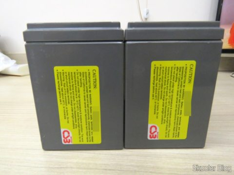 Batteries CSB HR 1234W F2 12VDC 9Ah 34W long life 8 years
