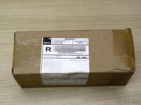 Caixa da Perfume Emporium com o Herrera For Men 200 ml EDT Spray (M)