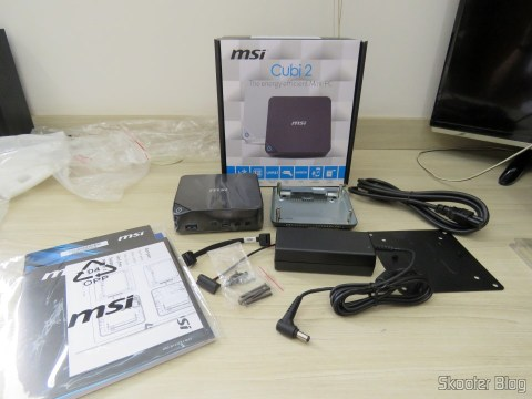 MSI Cubes 2 and accessories