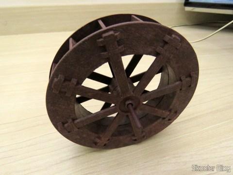 Roda d'Água 10,7cm para Fontes e Cascatas de Decoração