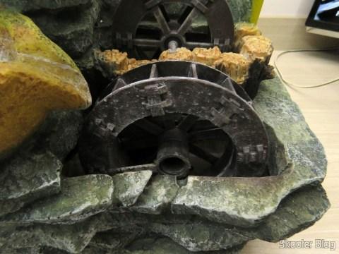 Fonte de Decoração, com a roda d'água quebrada