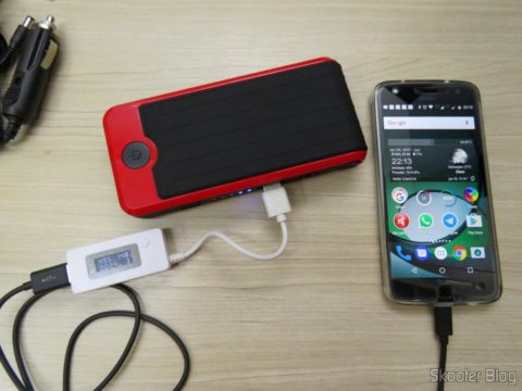 Mini Powerbank carrying the Bike Z Play