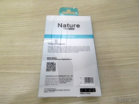 Ultra thin TPU cover for iPhone 5S/IF Nillkin your Original packing