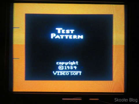 Color Bar Generator on the Atari 2600 the Polivoks c/external source, even more heated