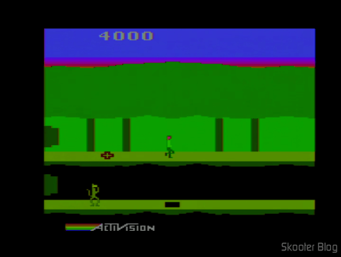 Pitfall 2 on the Atari 2600 After adjusting
