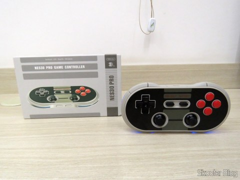 8Bitdo NES30 PRO and your packaging Crissaegrim