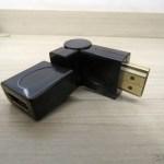 2º Adaptador HDMI Angular Rotativo