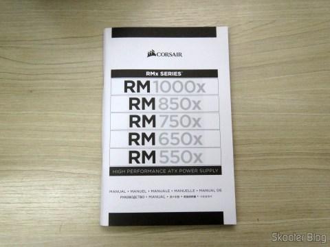 Manual da Fonte de Alimentação Totalmente Modular RMx Series™ RM550X — 550 Watt with certification 80 PLUS ® Gold