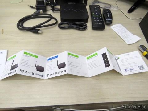 Brochures and manuals of the TV Box / Media Hub Minix NEO U1