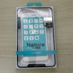 """TPU soft cover for ASUS Zenfone 3 5.2 ZE520KL"""" Nillkin Nature Series Transparent, on its packaging"""