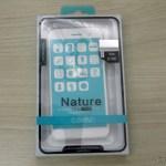 "Capa de TPU macia para ASUS Zenfone 3 ZE520KL 5.2"" Nillkin Nature Series Transparente, em sua embalagem"