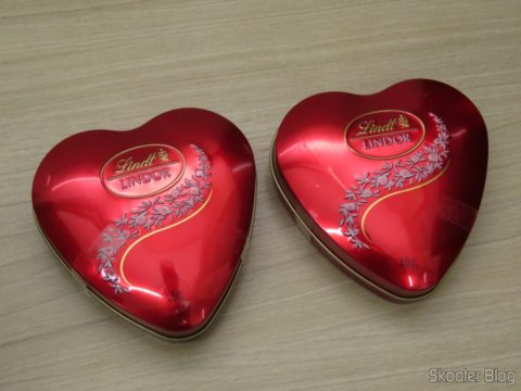 Kit with 2 Lindor Heart - Lindt