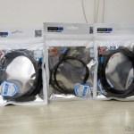 Cabos USB 3.1 Tipo C Vention para Carga e Dados 2m e 50cm em suas respectivas embalagens