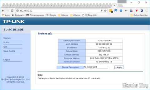TP-Link TL-SG1016DE losing the MAC address