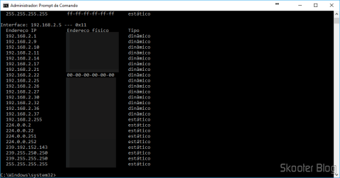 TP-Link TL-SG1016DE perdendo o endereço MAC