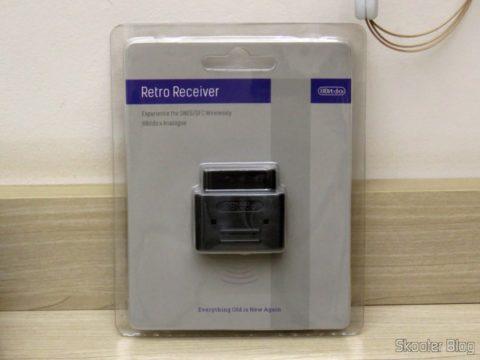 Retro Receiver SNES, em sua embalagem