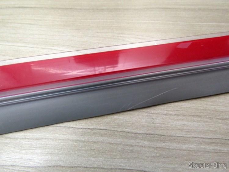 Frieze of transparent PVC Adhesive door 90 cm