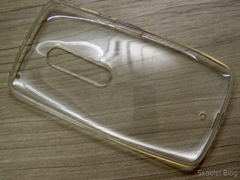 Cover for Motorola Moto X Play Soft Transparent TPU