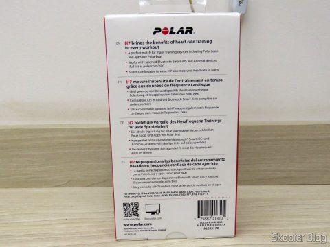 Sensor de Frequência Cardíaca Polar H7, em sua embalagem