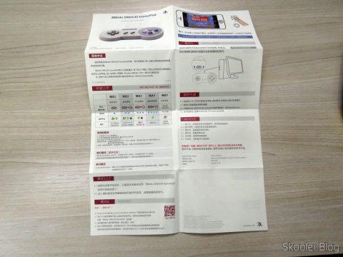 Manual de Instruções do 8bitdo SNES30 GamePad