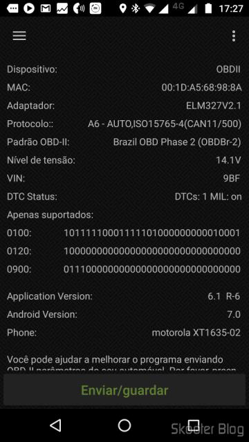 Testando o Mini ELM327 V2.1 OBD2 Bluetooth