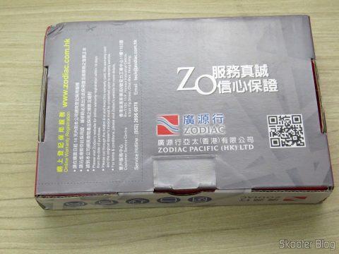 HD Western Digital WD Gold 4TB, on its packaging