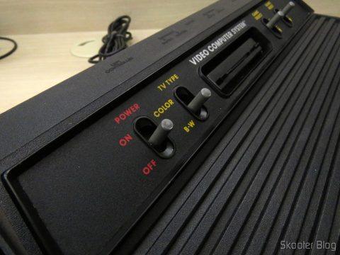 As chaves do Atari 2600