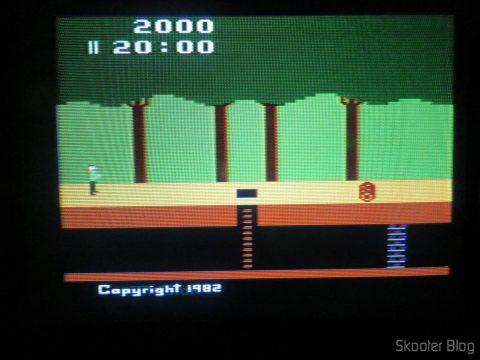 "Pitfall no ""novo"" Atari 2600"