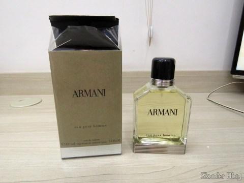 Armani 3.4 oz (100ml) EDT Spray e sua embalagem