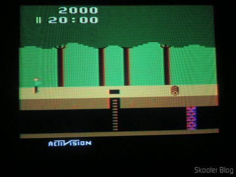 Pitfall no Atari 2600 no processo de de-transcodificação