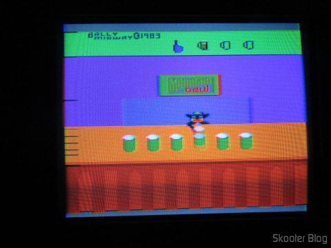 Tapper no Atari 2600 no processo de de-transcodificação