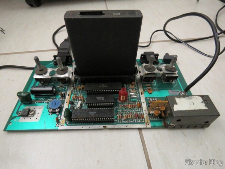 The Atari board 2600, After de-transcoding. Back to NTSC.