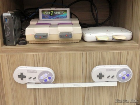 2º Retro Receiver SNES - 8bitdo, operation