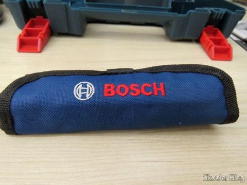 Conjunto de Brocas, que acompanham a Parafusadeira-Furadeira à Bateria Bosch 12V GSR 120-LI.
