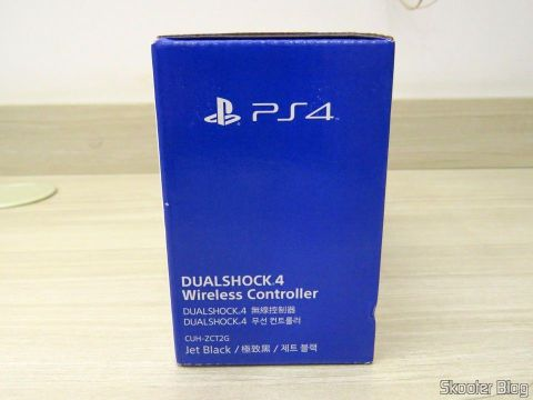 Dualshock 4 Wireless Controller (Slim/PS4 Pro model), on its packaging