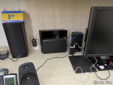Playstation 4 agora foi para o escritório.