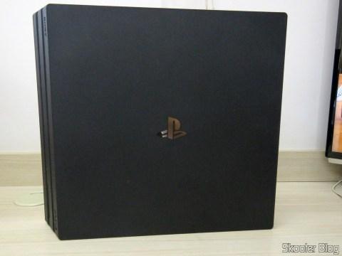 O Playstation 4 Pro.