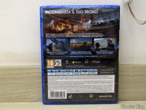 Final Fantasy XV, também incluso na promoção.