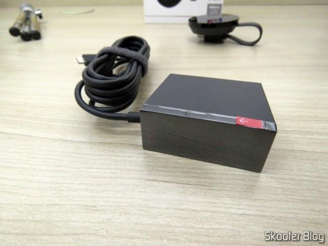 Fonte de Alimentação do Chromecast Ultra.