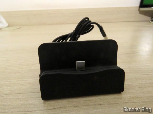 Dock Station para Celular com Plug USB Tipo C