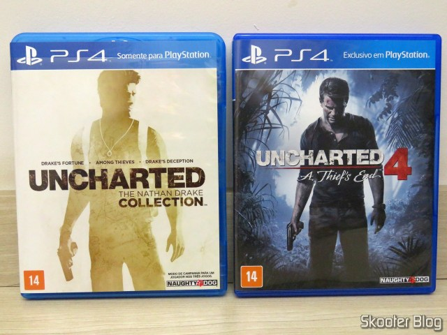 Uncharted: The Nathan Drake Collection e Uncharted 4: A Thief's End
