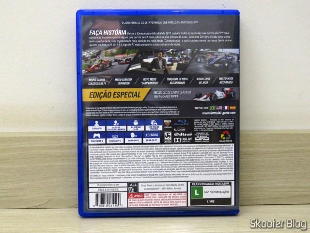 F1 2017 - Playstation 4 (PS4)