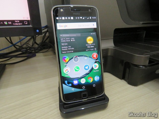 Moto Z Play no Dockstation USB Tipo C CharmTek.