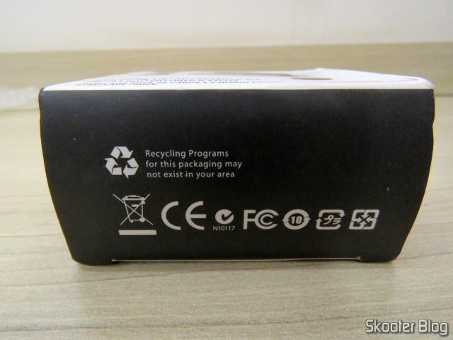 Dockstation para iPhone 7, 6S, 6, 5S, 5C, 5, SE para dados e carga, em sua embalagem.