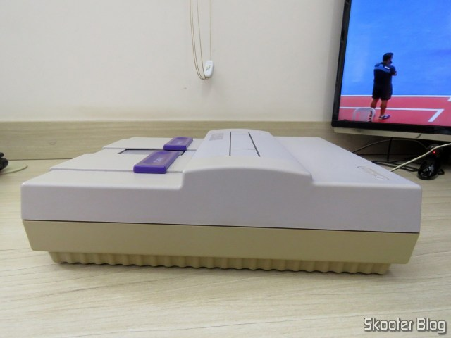 Super Nintendo, After deep cleaning.