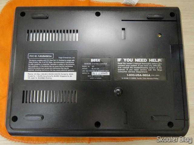 Mega Drive (Sega Genesis), after cleaning.